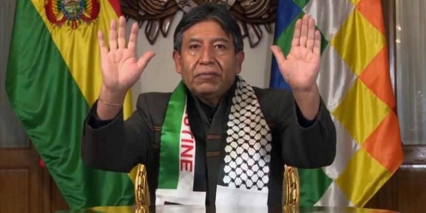 Bolivya Devlet Başkan Yardımcısı Choquehuanca'dan Filistin mesajı Kaynak: Bolivya Devlet Başkan Yardımcısı Choquehuanca'dan Filistin mesajı