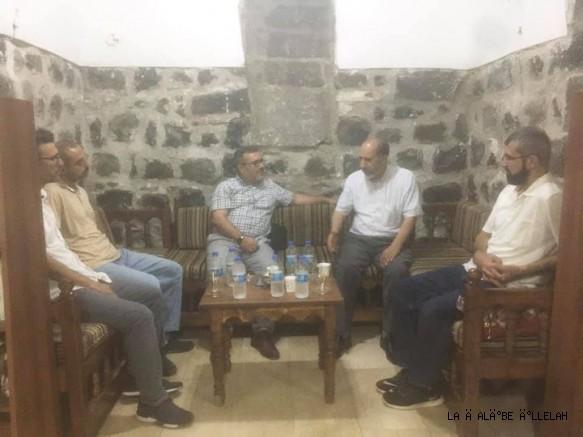 İslami şahsiyetiyle bilinen Hasan Şerefoğlu'ndan dost ziyareti