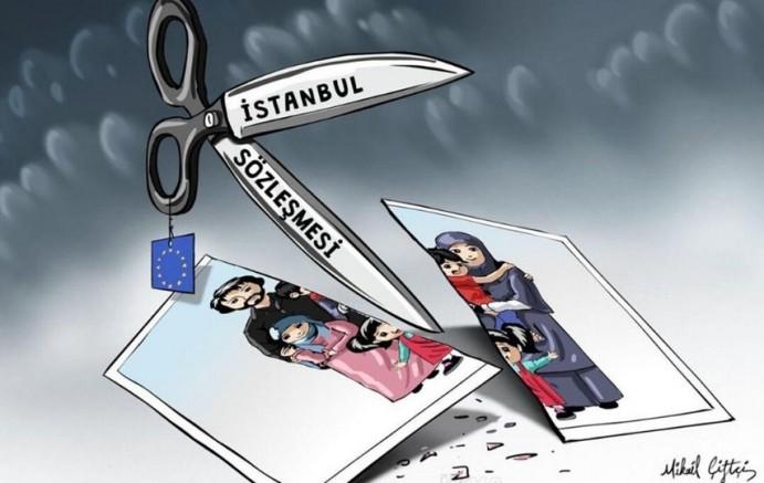 İstanbul Sözleşmesi Ailelerimizi Dağıtıyor