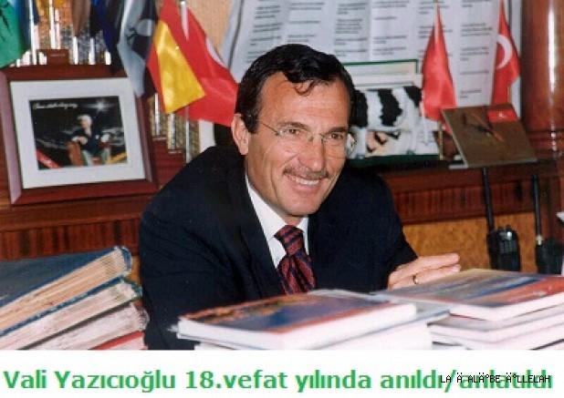 M.Kemal Yazıcıoğlu Efsane Vali Recep Yazıcıoğlu'nu anlattı..!?