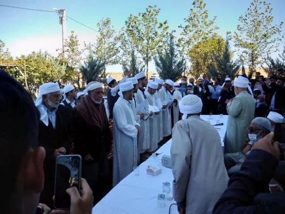 Murşid-i Kamil medresesinden 6 fakih icazetname aldı