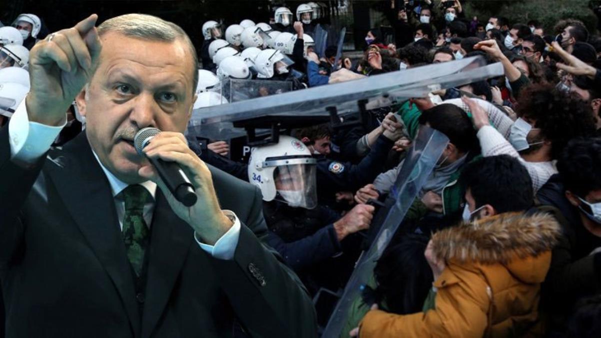 Cumhurbaşkanı Boğaziçi isyanına  sert tepki gösterdi.